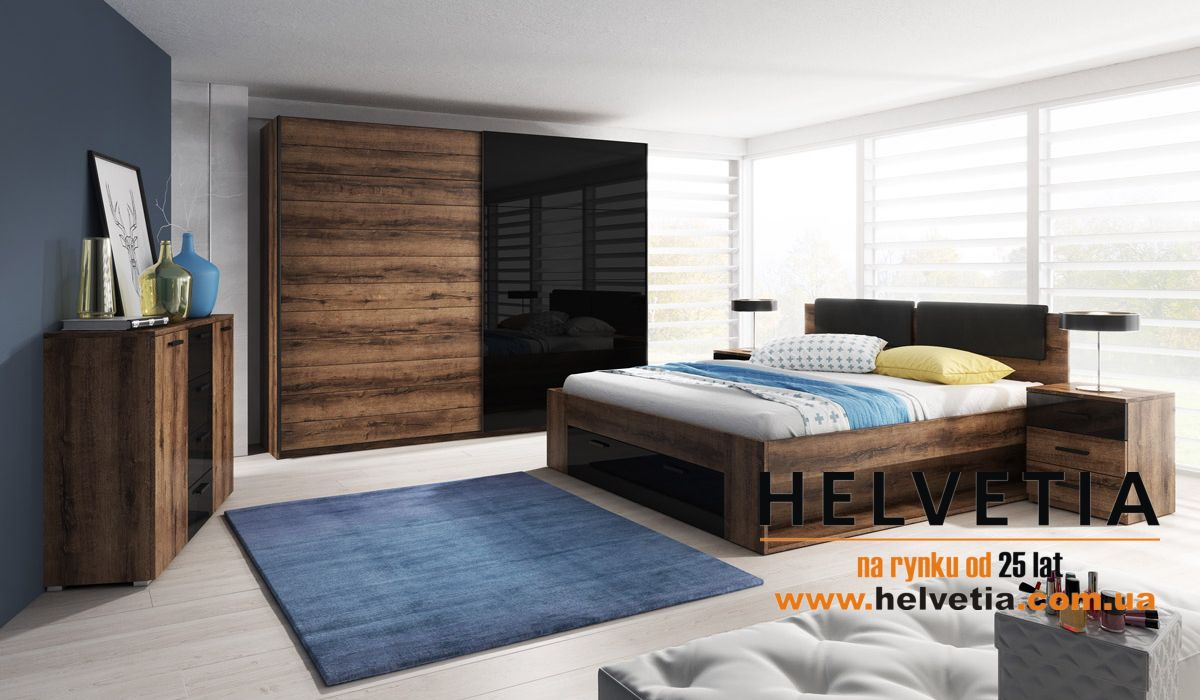 спальные гарнитуры Helvetia спальня Galaxy
