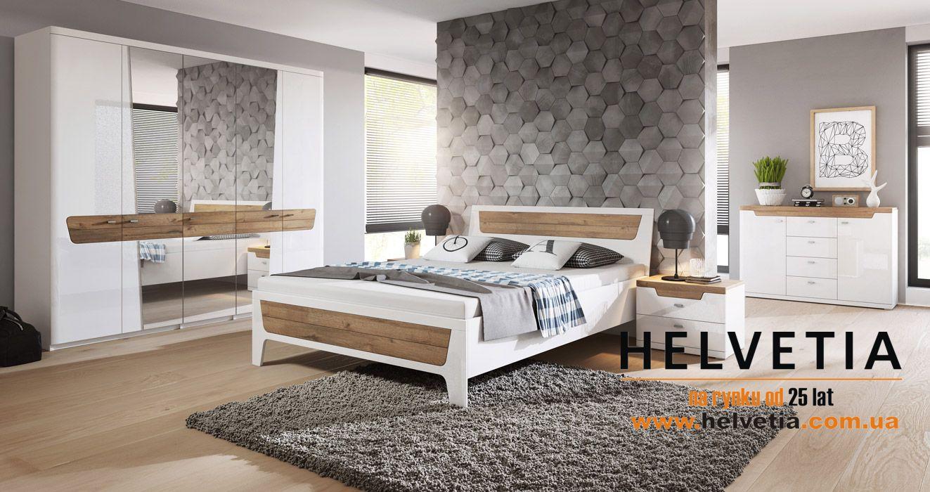 спальные гарнитуры Helvetia спальня Montreal